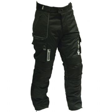 Duchinni Sahara Waterproof Motorcycle Motorbike CE Textile Trousers Pants Jeans